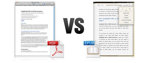 epub format source code quick look anybizsoft pdf to epub 171 mac appstorm