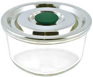 Large Food Storage Containers Airtight - plastic free airtight glass container w stainless steel lid