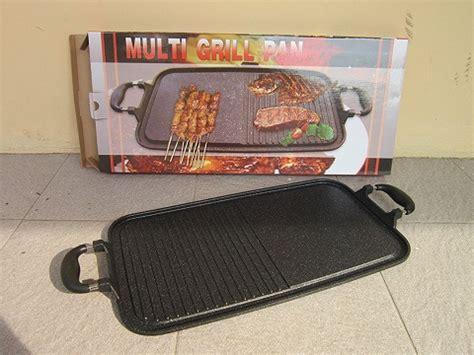 Pan Panggangan grill pan marble suggo alat panggangan ikan ayam daging