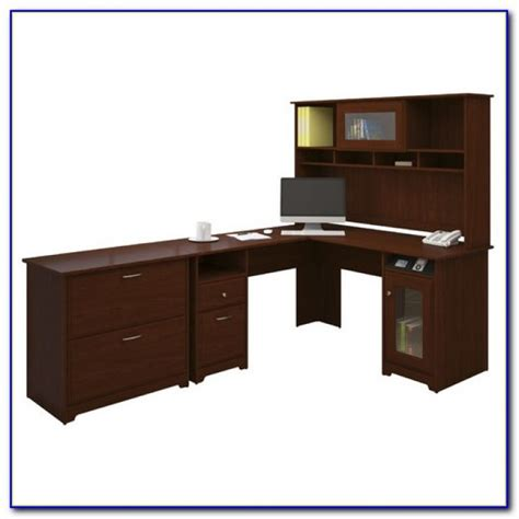 Bush Cabot L Shaped Desk Bush Cabot L Shaped Desk Assembly Desk