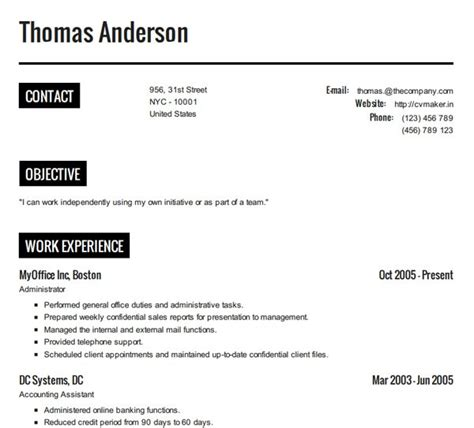 how to create a resume resume cv