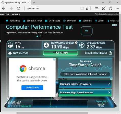 modem speed test how to measure monitor and manage your broadband