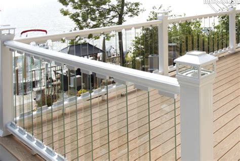 glass deck railing systems cost home design ideas