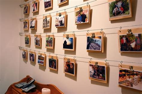 creative ways to hang pictures without frames 6 ways to hang photos without using nails