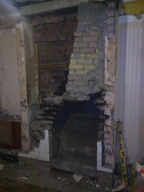Fireplace Rebuild by Rebuild Chimney Breast Chimneys Fireplaces In