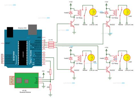 home lighting circuit design how to make arduino based home automation project via