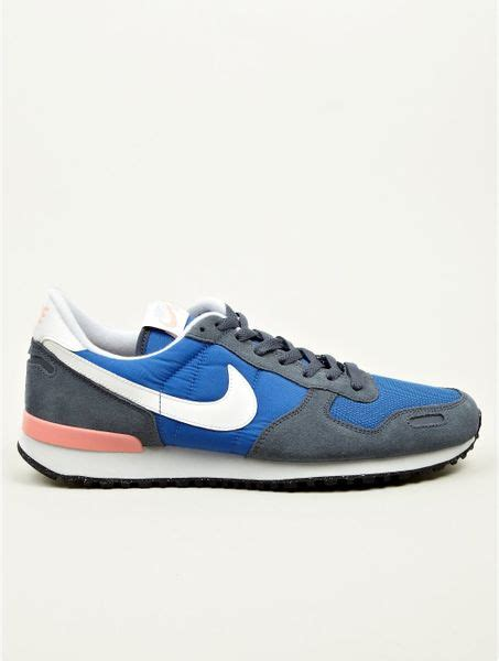 mens retro sneakers nike blue air vortex retro sneakers in blue for lyst