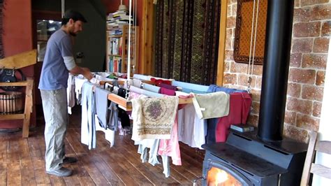 drying clothes in bedroom the ultimate laundry drying rack youtube