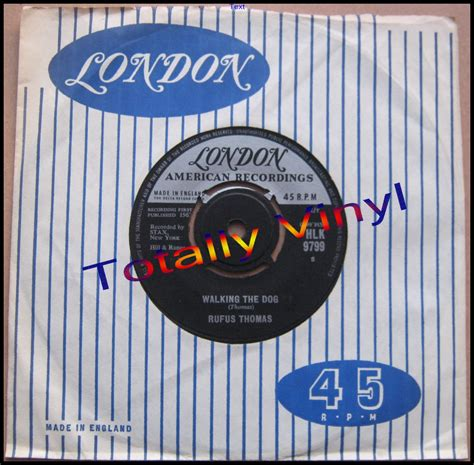 rufus walking the totally vinyl records rufus walking the and mellow 7 inch