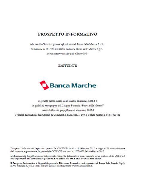 Banca Delle Marche Situazione Finanziaria by Consob E Aumento Di Capitale Sanzionati Gli Ex Vertici