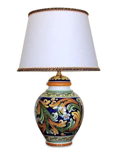 ladari in ceramica di caltagirone lume in ceramica di caltagirone h70 lade da tavolo