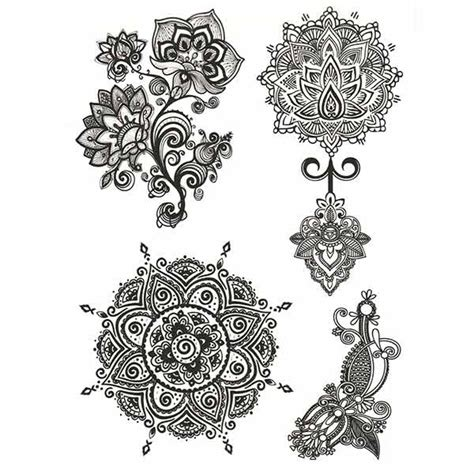 tattoo mandala ephemere tatouage dentelle mandala tatouage ephemere dentelle