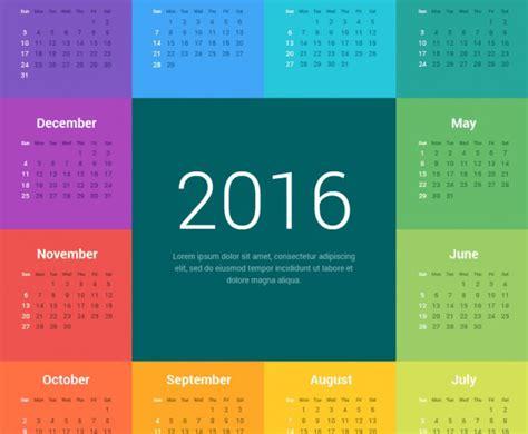 color of 2016 creativo almanaque 2016 para imprimir jumabu