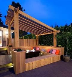 Slanted Pergola Roof home carport plans trend home design and decor