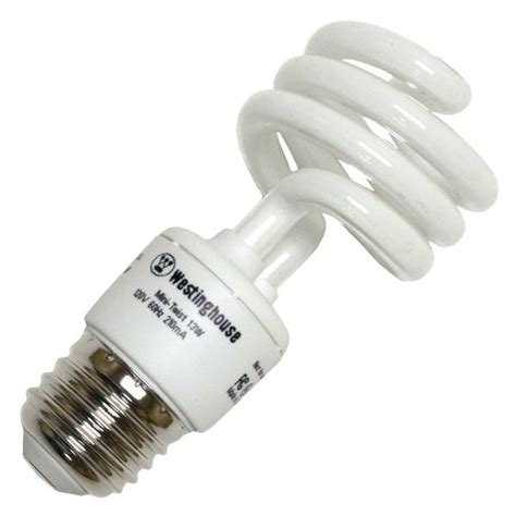 Twist Light Bulb by Westinghouse 37714 13minitwist 50 Twist Medium