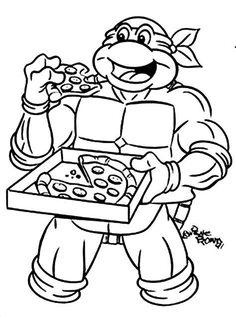 ninja turtles coloring pages easy coloring pages teenage mutant ninja turtles 515809