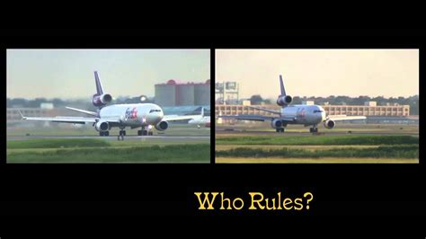 Md Vs federal express dc 10 vs md 11 who