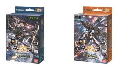 The Gundam Cross War Pre Built Starter Deck Encounters Universe Gcw S gundam cross war october 16th global simultaneous release info link gunjap