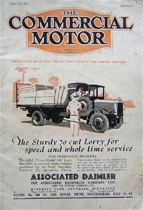 motor magazine uk the commercial motor magazine lorries in 1928