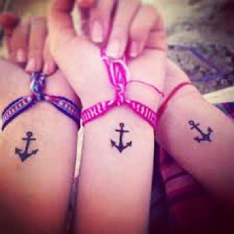 best friends matching anchor tattoo designs tattooshunt com