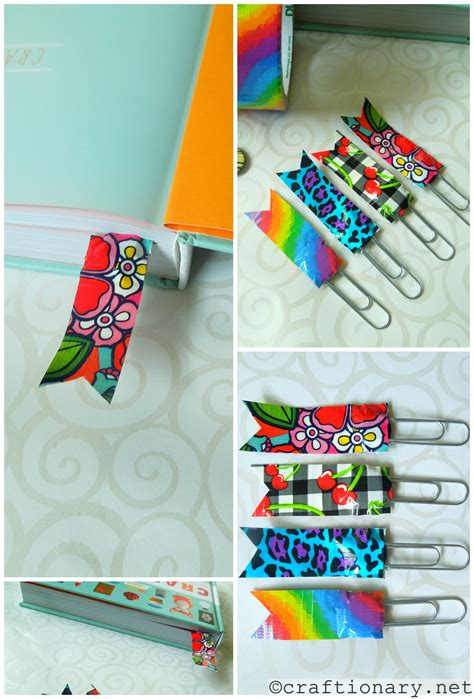 duct craft ideas for diy duct ideas make simple crafts bookmark ideas