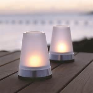 Patio Table Lights Table Top Hurricane Tea Light Outdoor Lighting Chicago By Home Infatuation