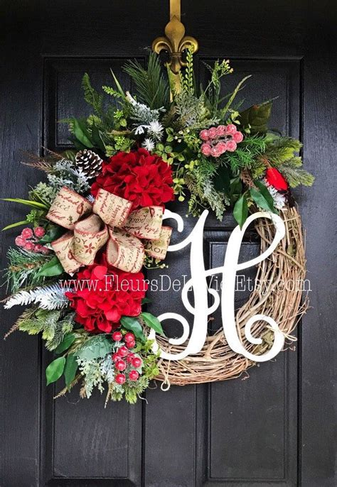 front door initial wreath 25 best ideas about front door monogram on
