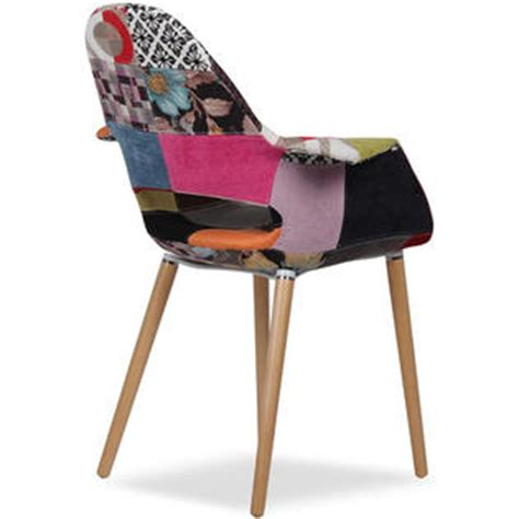 multi colored fabric dining chairs homelala ch organic samx2 set of two 2 multi color
