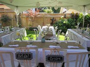 Small Backyard Wedding Ideas On A Budget Discover And Save Creative Ideas