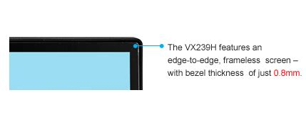 Asus Vx239h 23 Fhd Hitam vx239h monitor asus italia