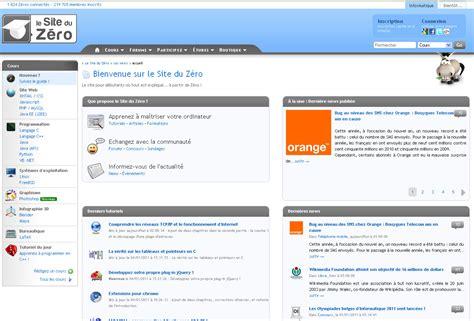 tutorial html site du zero le site du z 233 ro change de nom et devient openclassrooms