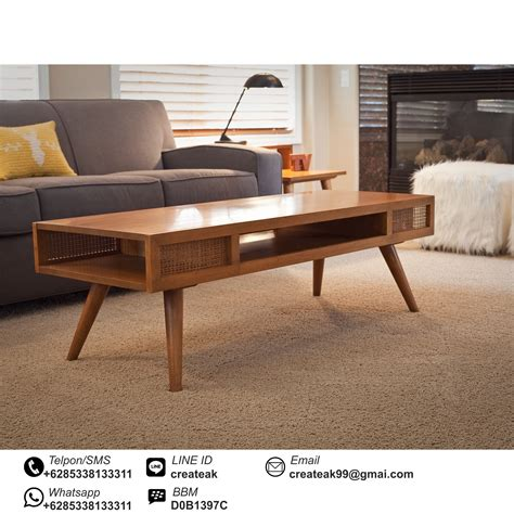 Meja Vintage meja tamu retro createak furniture createak furniture