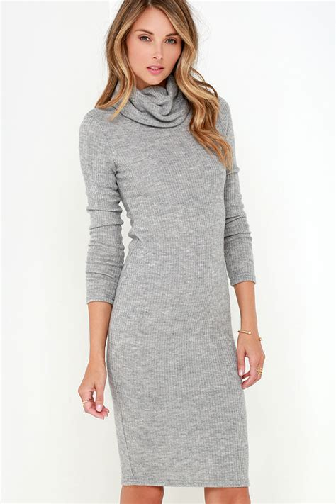 Strappy Knit Dress Black Grey0 S M L 16552 chic grey dress ribbed knit dress bodycon dress turtleneck dress 39 00