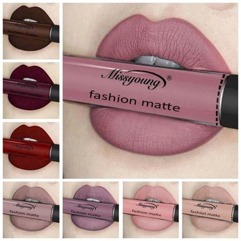 011 Stick Lipstick Matte Gold Waterpoof Lip Matte Putar Best Missyoung Matte Liquid Lipstick Lip Gloss Makeup
