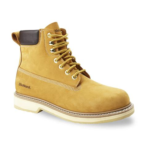 die hard on a boat diehard men s classic 6 quot wheat soft toe work boot