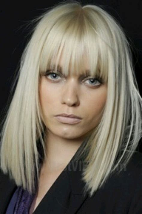 blonde bob no bangs 488 best images about hair envy on pinterest inverted