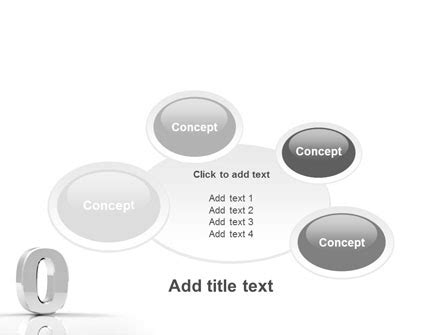 number 16 template 3d number powerpoint template backgrounds 01737