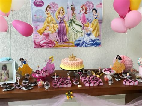 Festa In Casa by Festa Infantil Em Casa Tema Princesas