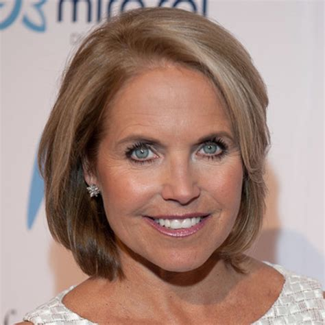 hair styles of female news reporters in britain katie couric news anchor talk show host biography