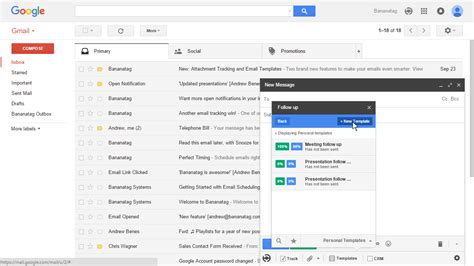 How To Set Up And Use Email Templates In Gmail Outlook Email Blast Templates