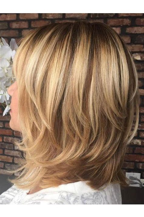 show me a hair style with layer cut shoulder length hairstyles to show your hairstylist asap
