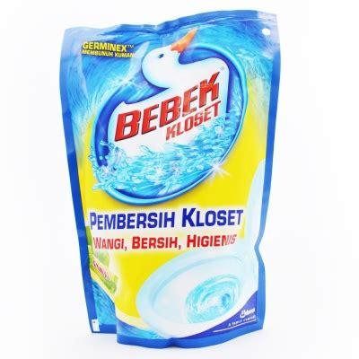 Soklin Pemutih Aroma Lemon Botol bebek closet lemon 450ml