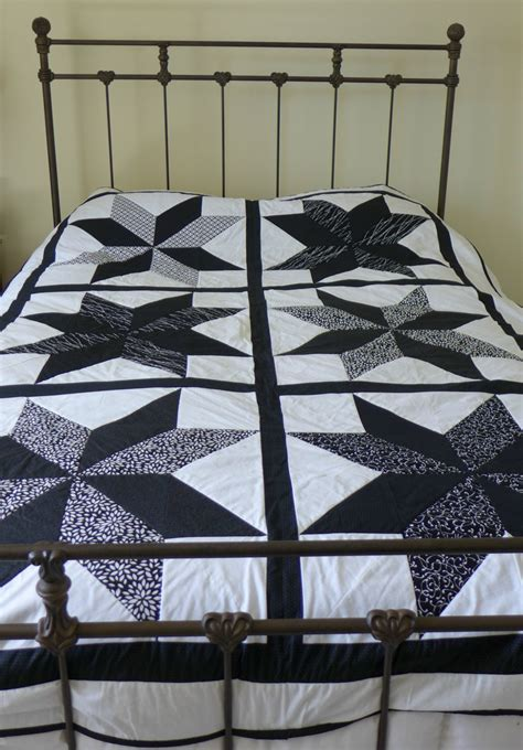 black coverlet twin modern black and white twin coverlet star quilt