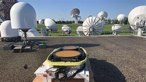 successful antenna technology validation  telesat leo satellite
