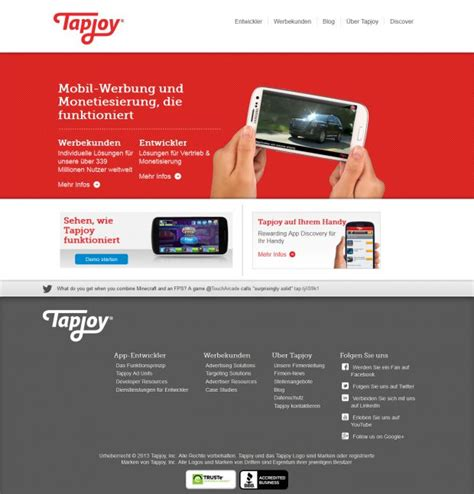 design home tapjoy tapjoy share and engage with mobile apps webdesign