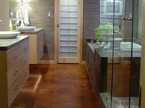 ideas for bathroom floors bathroom flooring options hgtv