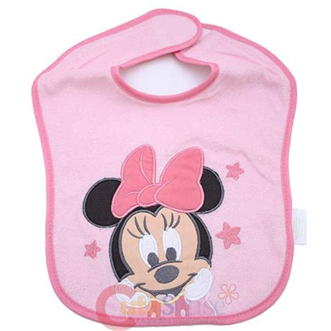 Disney Minnie Mouse Air Freshener Baby Cotton disney baby minnie mouse friends bibs 3pc set for boy 2