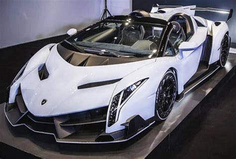 not for sale white veneno roadster cars