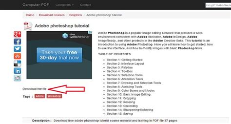 tutorial adobe photoshop video 9 ebook photoshop gratis untuk belajar edit foto bagi