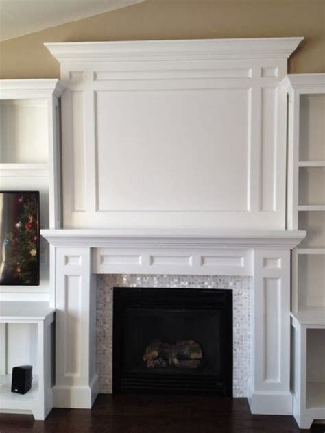diy built in fireplace surround diy projects